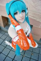 Miku Hatsune - Good Smile Racing by JessicaUshiromiyaSan