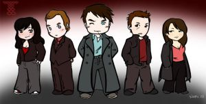 The Torchwood Team by nuriwan