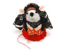 Carmen the Flamenco Mouse by The-House-of-Mouse