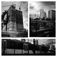 metropolis, a million little pieces #2: ringroads by d-s-foto