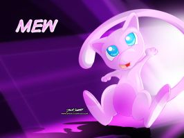 Mew Wallpaper by SnafuDave