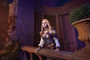 Jaina Proudmoore (WoW) - Dalaran night by ver1sa