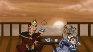 Avatar: Old people sunset by carrinth