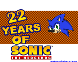 22 years of the blue blur by MOK-AXE