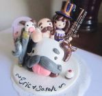 League of legends cake topper by Thekawaiiod