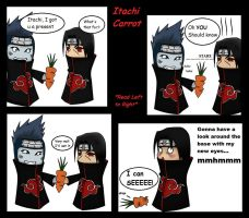 Itachi Carrot Comic Pg.1 by VietBBoyTobi