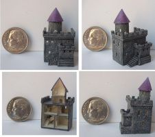 Tiny Dollhouse Castle by clevella
