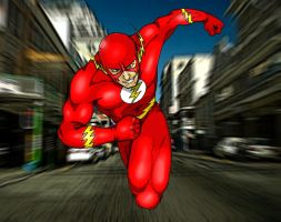 1 superhero a week: The Flash by Jordi9