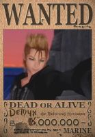 Demyx Wanted Poster by SoraKing
