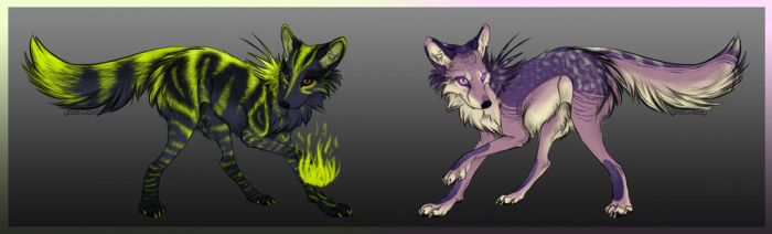 Wolf adopts .:OPEN:. by BlackLightning95