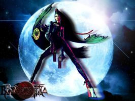 Bayonetta Fotomontaje by Die-Rose