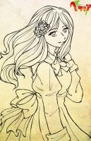 APH - Hungary Lineart by 9Ri