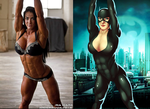 Ria Ward Is Catwoman By Moonlight By Ulics by zenx007