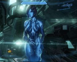 Halo 4 cortana by Ultamisia