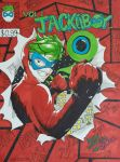 Jackieboy man comic book cover by tomato18