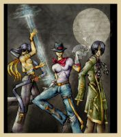 barbel, panday, lastikman by blue-fusion