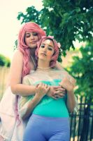 rose and pearl cosplay 4 by jovvian