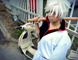 my lovey-dovey scooter by Hancee