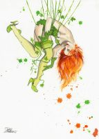 Pin-Up DC Girls_Poison Ivy by lora-zombie
