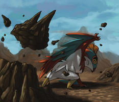Hawlucha by Luphin