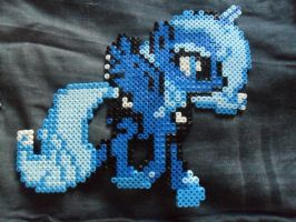 Perler bead Princess Luna by Tuccsok