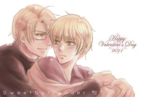Happy Valentine's Day 2011 by Lul-lulla