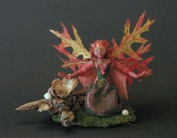 Reedfrost the Autumn faerie 1 by Boggleboy