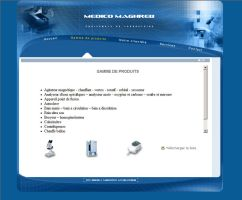 medico maghreb web interface by 4rm