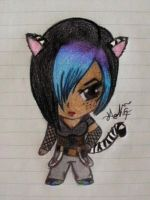 chibi me...with short hair by loveorlife721