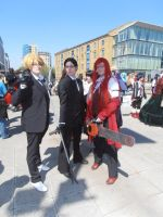 Black Butler Cosplayers by mystic-marmalade