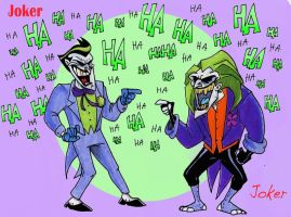Joker and Joker by Boredman