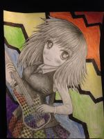Rainbow bass by GenericAnime