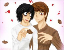 Death Note: Cookies. -LxLight- by LxLight
