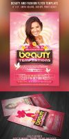 Beauty and Fashion Party Flyer by hugoo13
