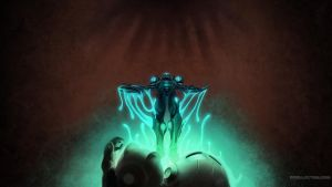 Dark Samus Wallpaper by tomgiest