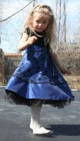 Blue Dress Lexi 40 by Falln-Stock