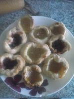 Abbie's homemade tarts xD by DarkietheFox