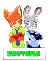 zootopia by kary22