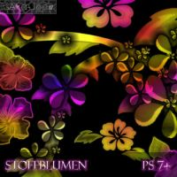 Stoffblumen Brushes by Aka-Joe