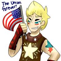 +!Shouting the Battle Cry of Freedom!+ by DECEPTIB0T