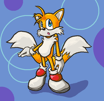 Miles Tails Prower by NessStar3000