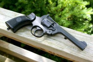 Enfield .38 pistol by Matsucorp