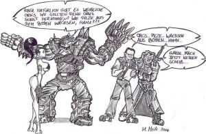 The Orcs Origin by Inquisitor-Hein