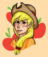 MLP:FiM Applejack by ninja-emo