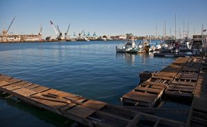 Port of Los Angeles by zootnik