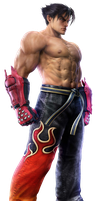 Jin Kazama In T6 by Blood-Huntress