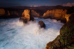 Shark Fin Cove by stammberger13