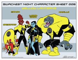 Looney Lanterns the web comic character sheet 002 by CharlesEttinger