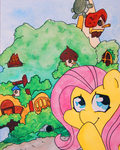 Home Sweet Home - Fluttershy by FrogAndCog