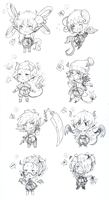 [CLOSED] adopts::Monster Girls:: by punkion